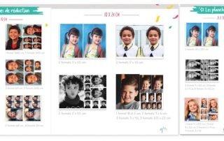 Image illustrant la fonctionnalité permettant aux photographes de définir et vendre des planches de réduction de photos scolaires sur Lumys Scolaire, logiciel de photo scolaire en ligne pour les photographes professionnels en France et en Belgique