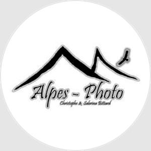 Logo de Alpes-Photo, société de Sabrina Bittard, photographe cliente de Lumys Scolaire, logiciel de photo scolaire en ligne pour les photographes professionnels en France et en Belgique