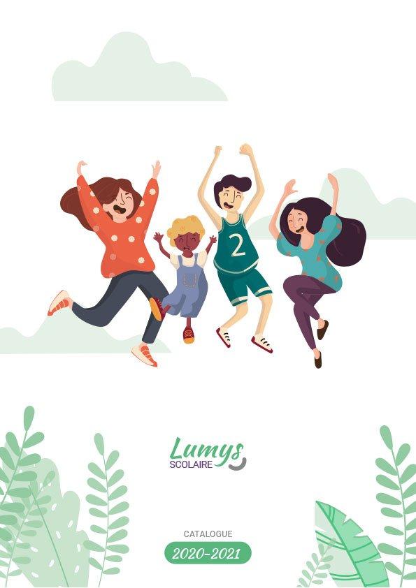 Page de garde du catalogue des produits de photos scolaires de Lumys Scolaire, logiciel de photo scolaire en ligne pour les photographes en France et en Belgique