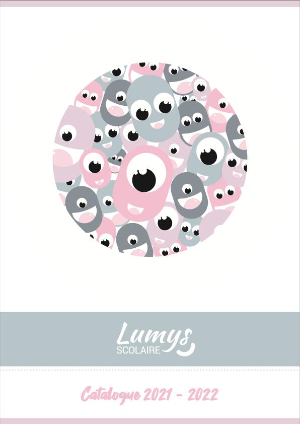 Page de garde du catalogue des produits de photos scolaires de Lumys Scolaire, logiciel de vente de photos scolaires en ligne pour les photographes en France et en Belgique