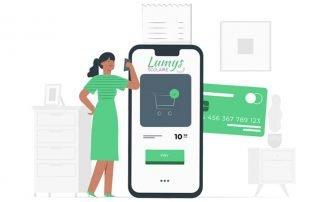 Illustration pour les paiements par CB sur Lumys Scolaire, logiciel référent de vente de photos scolaires en ligne pour les photographes Professionnels en France et en Belgique